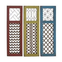 Fancy Wood Metal Wall Panel Assorted