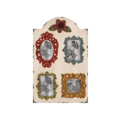 Benzara Eye Catching Wood Wall Photo Frame