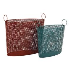 Benzara Attractive Modish Styled Metal Basket