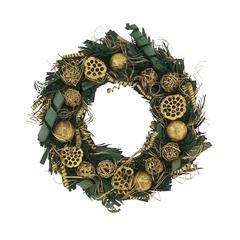 Benzara Elegantly Styled Christmas Wreath