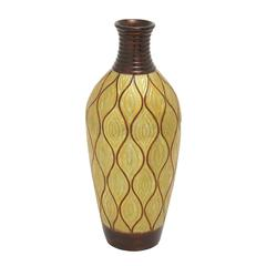 Benzara Impressive And Inspirational Terra Cotta Vase