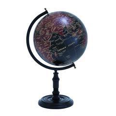 Long Lasting Metal Wooden Globe With Beautiful Print