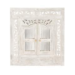 The Royal Wood Wall Mirror