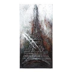 "Benzara Canvas Art Eiffel Tower 79""H, 40""W"