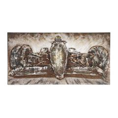 The Fast Wood Metal Wall Art