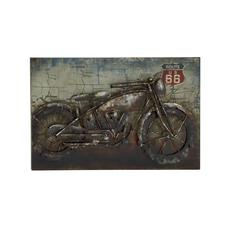 Rich And Classy Metal Wall Decor
