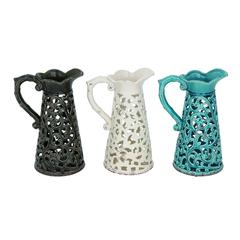 Amazing Collection Of Ceramic Vase 3 Assorted