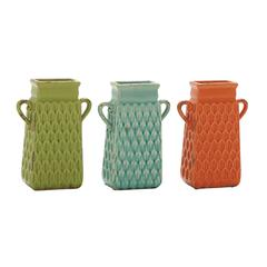 Benzara Lovely Ceramic Sm Vase 3 Assorted