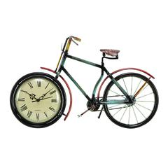 Metal Cycle Clock For Kids Room Decor Upgrade