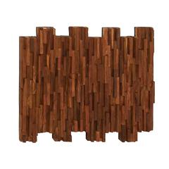 Simple And Inspiring Wood Teak Wall Panel