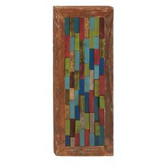 Benzara Simply Beautiful Wood Teak Wall Decorative