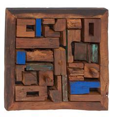 Benzara Simply Extraordinary Wood Teak Wall Panel