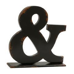 "Appealing Wood Symbol Table Decor 16""W, 16""H"