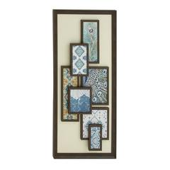 "Benzara Modish Wood Framed Art 24""W, 50""H"