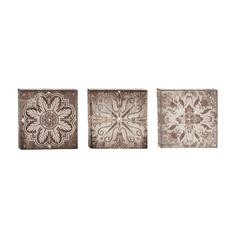 Benzara Special And Classic Canvas Art Set Of 3