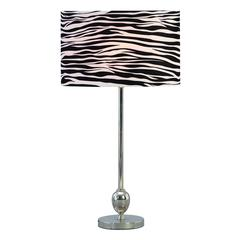 Benzara Metal Table Lamp 25 Inches High Looks Like A Decorative Sculpture