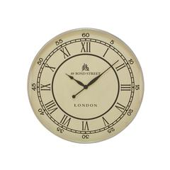 Benzara Classic And Timeless Stainless Steel Wall Clock