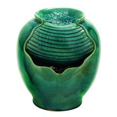 "Benzara Ceramic Water Fountain 12""H, 10""W"
