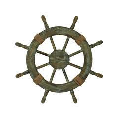 Wood Ship Wheel Brings Nautical Life In Your Home