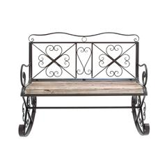 Benzara Swindon Sophisticated Charismatic Rocking Bench