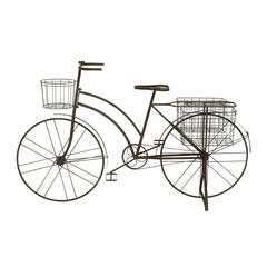 Benzara Antique Metal Bicycle Planter