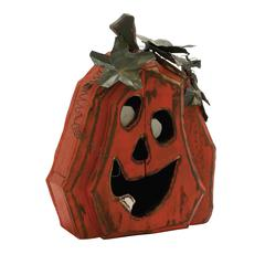 Benzara Weird Wood Pumpkin