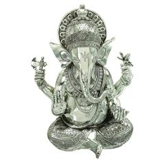 Benzara Polystone Ganesh Decor With Religious Blend