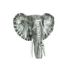 Benzara Distinctive Showpiece Polystone Elephant Head Plaque