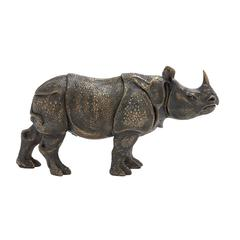 Well Built Rhino Figurine