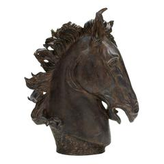 Polystone Horse Head Beautiful Coordinating Decor