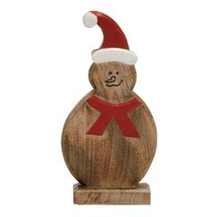 Funny, Endearing Wood Snowman