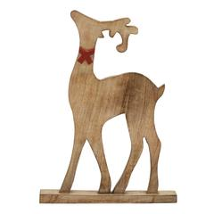 Benzara Proud Wood Reindeer