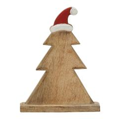 Adorable Wooden Carved Christmas Tree