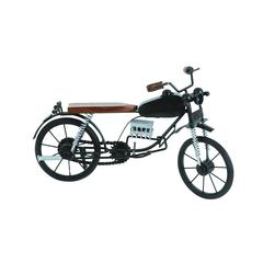Benzara Miniature Motorcycle In Contrasting Colors