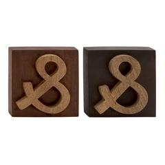 Cool Wood Block Symbol 2 Assorted