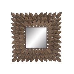Distinctive Gem Metal Wall Mirror