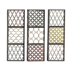 Benzara Priceless Metal Wall Decorative 3 Assorted