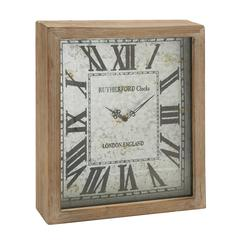 Uniquely Cool Wood Wall Clock