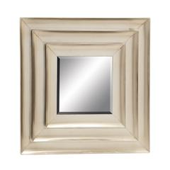 Benzara Distinctive And Captivating Metal Wall Mirror