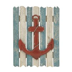 Benzara Anchor Themed Lovely Wall Plaque