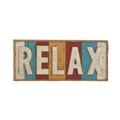Colorful Relax Theme Wall Sign Décor