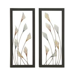 Inspiring Metal Led Wall Deco 2 Assorted