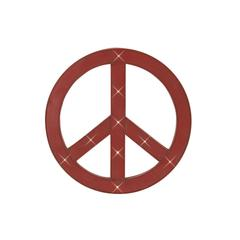 Benzara Uniquely Styled Metal Led Peace Sign