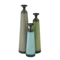 Beautiful And Colorful Vase Set Of 3