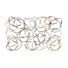 Benzara Eye-Catchy And Distinctly Styled Metal Wall Décor