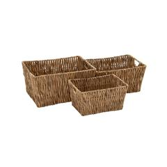 Cool And Beautiful Seagrass Basket Set Of 3