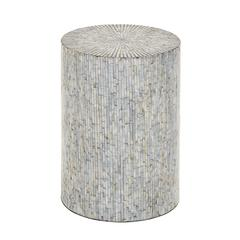 Cool In Mosaic Wood Inlay Stool