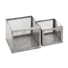 Benzara Antique Styled Fascinating  Metal Wire Basket
