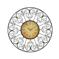 Vintage Styled Metal Outdoor Clock