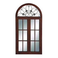 Benzara Window Mirror Designed In Classic-Style Window